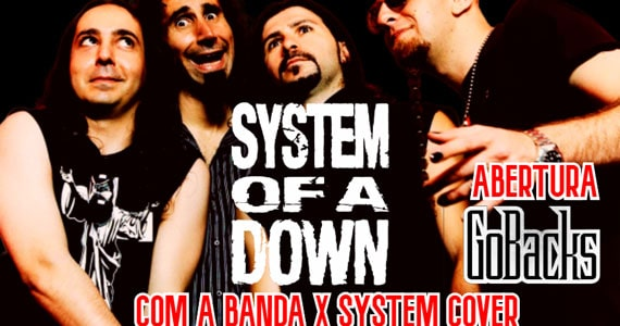 Caveira Negra Rock Bar apresenta X System Cover Eventos BaresSP 570x300 imagem