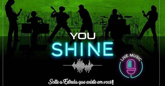 Jerônimo 446 realiza You Shine - Karaokê com Banda Ao Vivo Eventos BaresSP 570x300 imagem