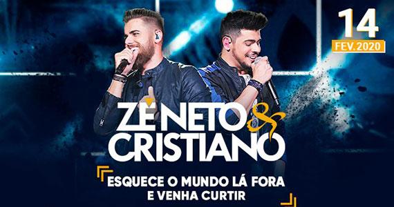 Zé Neto & Cristiano traz os maiores sucessos ao Espaço das Américas Eventos BaresSP 570x300 imagem