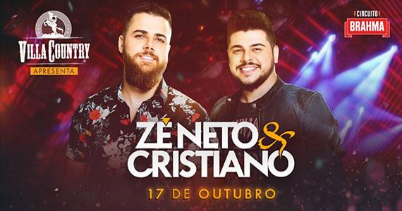 Zé Neto & Cristiano fazem grande show no Villa Country Eventos BaresSP 570x300 imagem