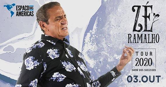Zé Ramalho realiza apresentação única no Espaço das Américas Eventos BaresSP 570x300 imagem