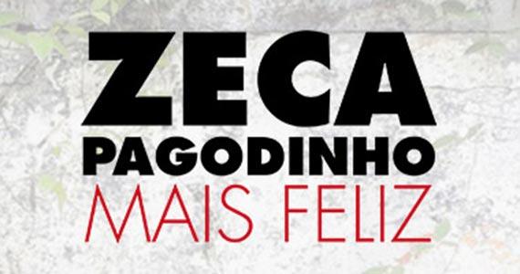 Zeca Pagodinho leva o show Mais Feliz ao Espaço das Américas Eventos BaresSP 570x300 imagem
