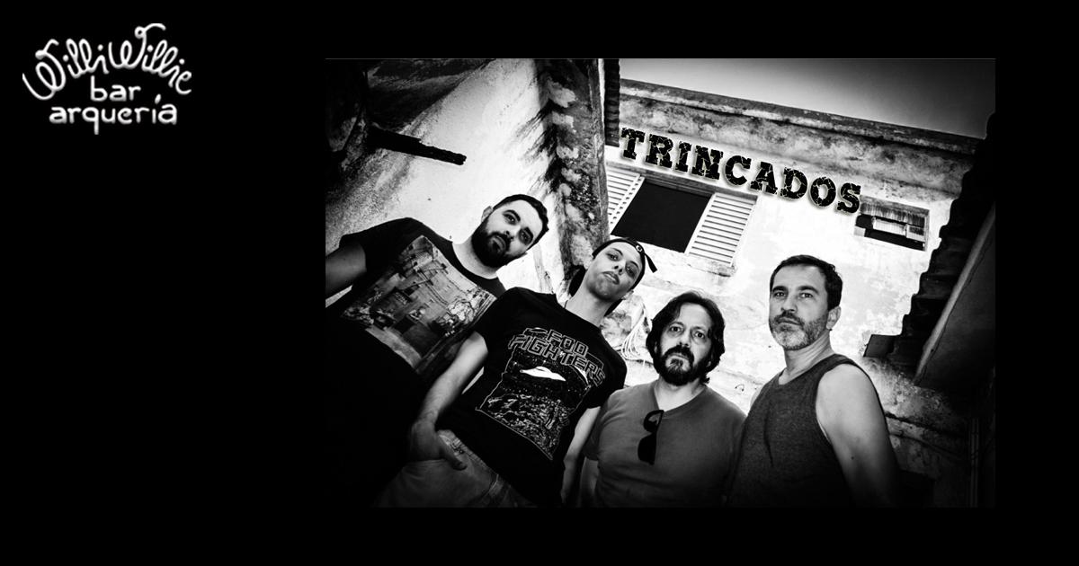 Programação - Banda Trincados (Rock) + 50% OFF na Arqueria