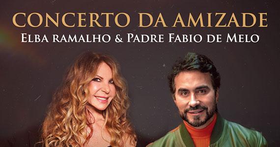 Espaço das Américas recebe Elba Ramalho, Padre Fábio de Melo e Maestro Adriano Machado em show especial Eventos BaresSP 570x300 imagem
