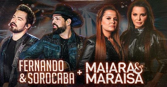 Dose Dupla com Fernando & Sorocaba e Maiara & Maraísa no Villa Country Eventos BaresSP 570x300 imagem