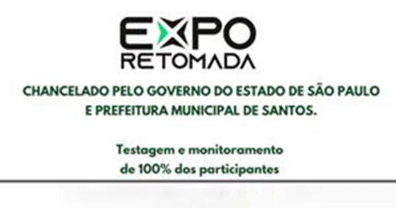 Expo-Retomada, principal evento-teste do estado, acontece no Santos Convention Center Eventos BaresSP 570x300 imagem