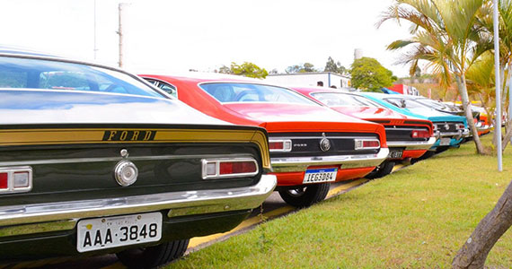 Exposição de carros antigos na Arena Sambódromo Eventos BaresSP 570x300 imagem