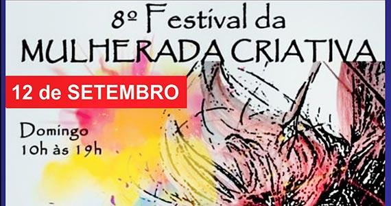 Festival Mulherada Criativa acontece na Pompéia Eventos BaresSP 570x300 imagem