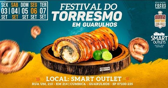 Festival de Torresmo e Churros na cidade de Guarulhos Eventos BaresSP 570x300 imagem