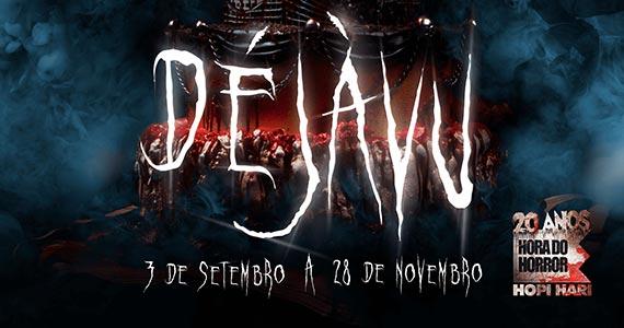 Hopi Hari promove Hora do Horror com tema Déjàvu Eventos BaresSP 570x300 imagem