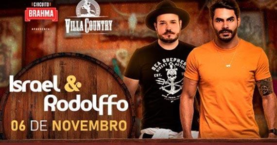 Israel & Rodolffo chegam ao Villa Country e animam o público com seus sucessos Eventos BaresSP 570x300 imagem
