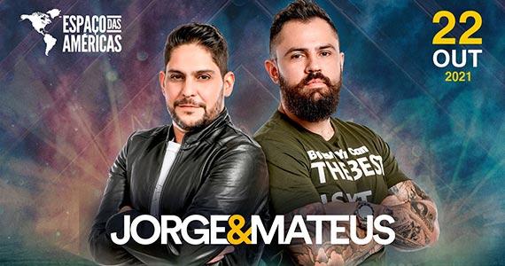 Dupla Jorge e Mateus apresentam novo show no Espaço das Américas Eventos BaresSP 570x300 imagem