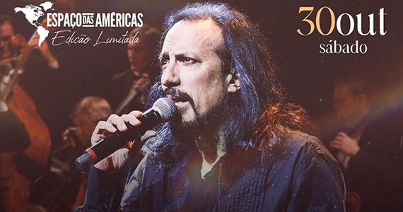 Juan Duran sobe ao palco do Espaço das Américas com música e ilusionismo Eventos BaresSP 570x300 imagem