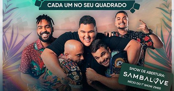 Grupo Menos é Mais realiza show exclusivo na Expo Barra Funda Arena Eventos BaresSP 570x300 imagem