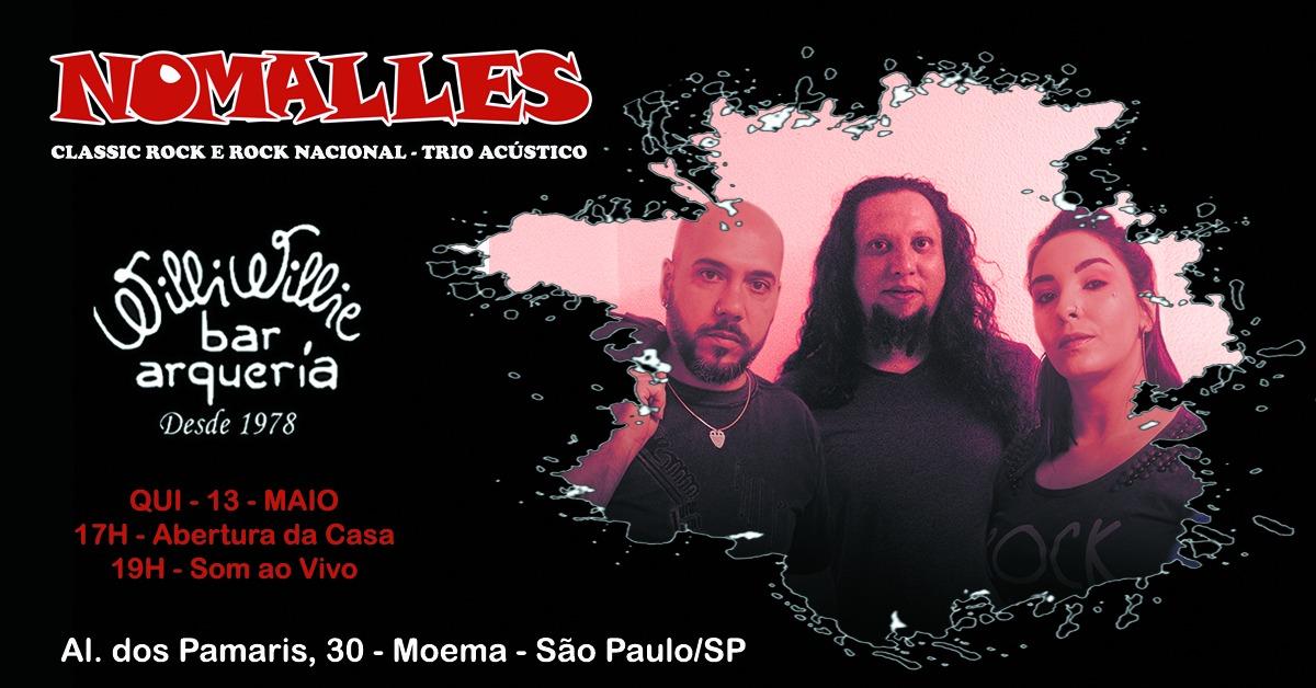 Programação - Banda NoMalles (Classic rock /rock nacional)