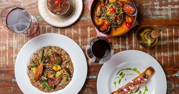 Osteria Nonna Rosa promove menu especial para celebrar o Dia dos Namorados Eventos BaresSP 570x300 imagem