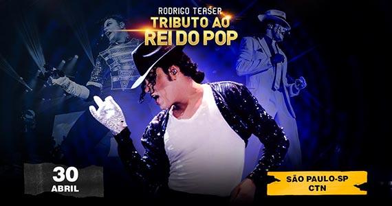 Rodrigo Teaser realiza Tributo ao Rei do Pop no Centro de Tradições Nordestinas Eventos BaresSP 570x300 imagem