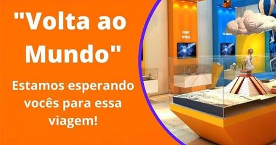 """Museu da Imaginação recebe a exposição """"Volta ao Mundo"""" Eventos BaresSP 570x300 imagem"""