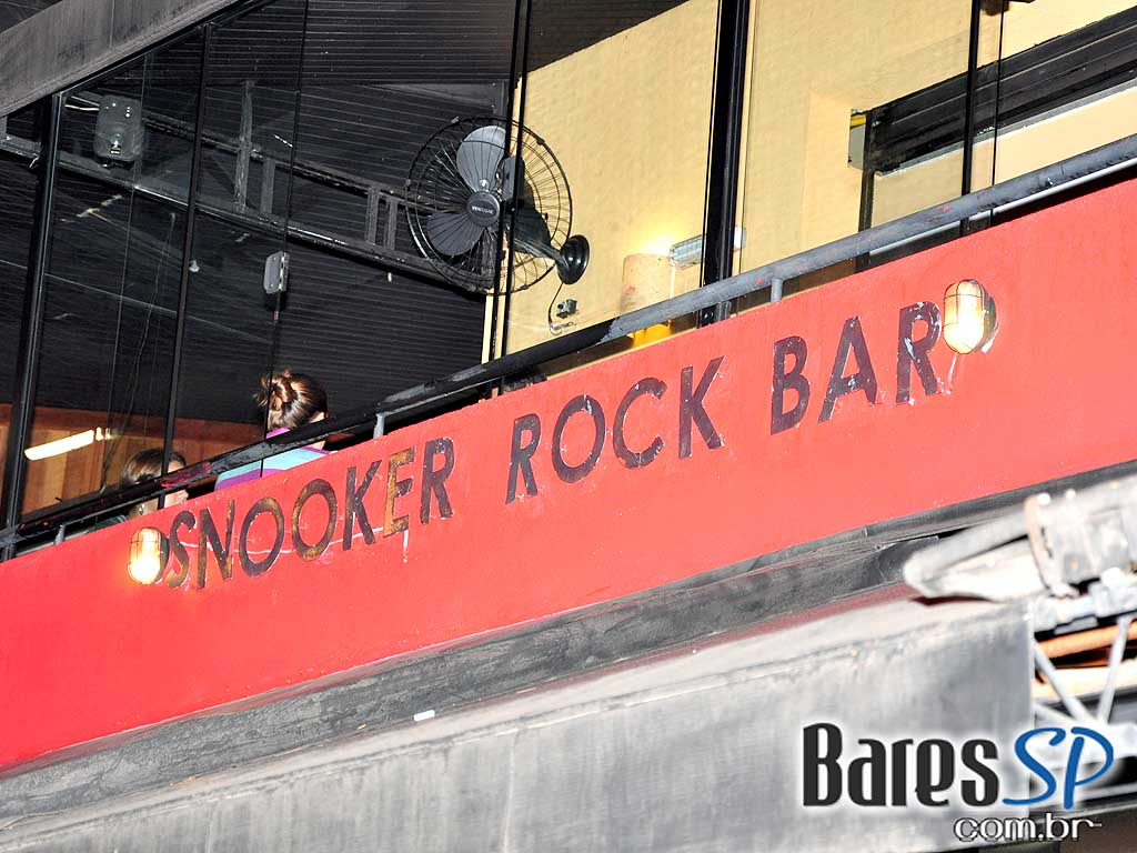 Happy Hour no Snooker Rock Bar