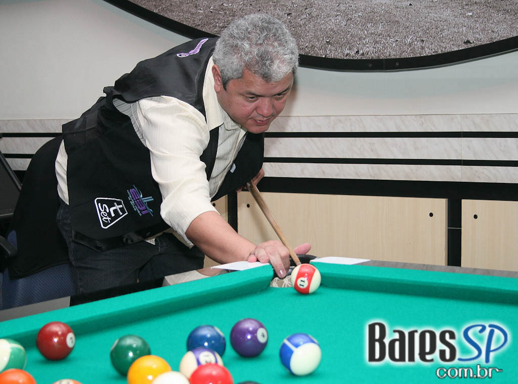 1ª Copa de Sinuca no Bahrem Snooker Bar