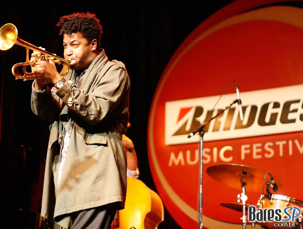 Christian Scott se apresenta no 3° Bridgestone Music Festival no Citibank Hall