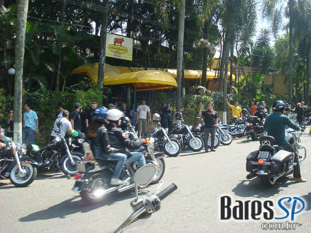 Evento da Harley Davidson no Clube do Churrasco na Ilha