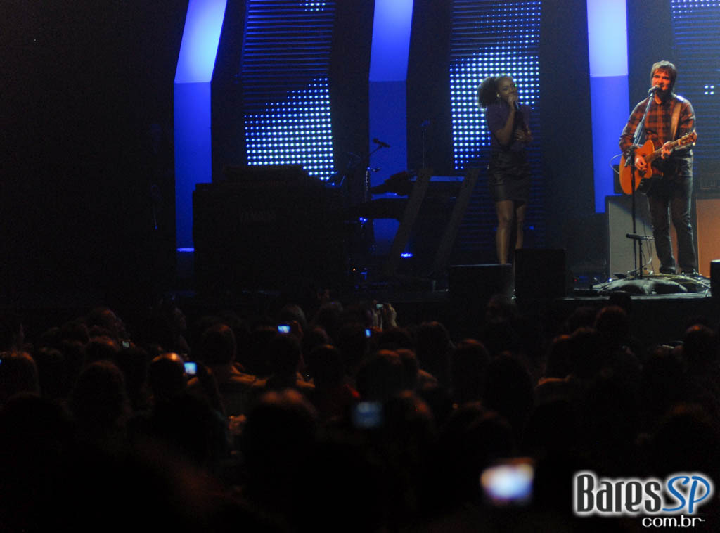 Skank apresenta novo show no palco do Citibank Hall