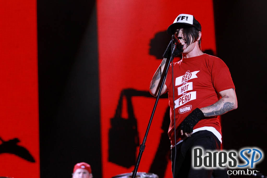 Rock in Rio 2011 apresentou a banda californiana, Red Hot Chili Peppers