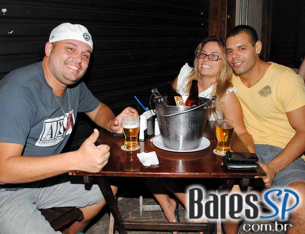 Happy Hour no Bar do Kabeça, localizado no Tatuapé