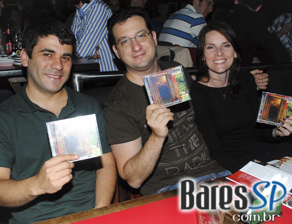 Patavinas Jazz Club e Banda Honey Nuts no palco do Ton Ton