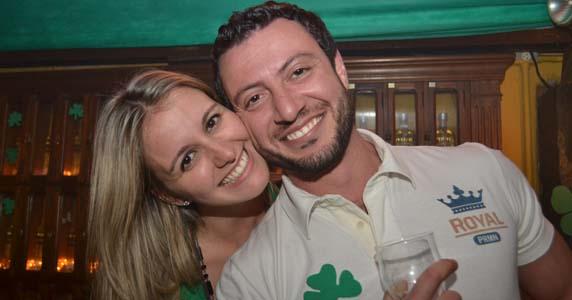 Bar Charles Edward realizou programação especial em homenagem ao dia de St. Patrick