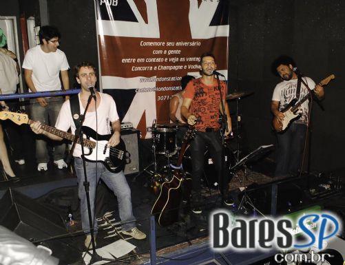 Festa de ST. Patrick com participação da banda Versus Murphy no London Station