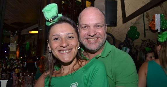 Dublin celebrou no domingo o ST. Patrick's Day com programação especial
