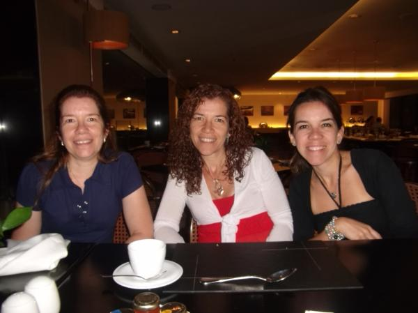 Irmãs Raimondi no Hotel Tivoly Mofarrej