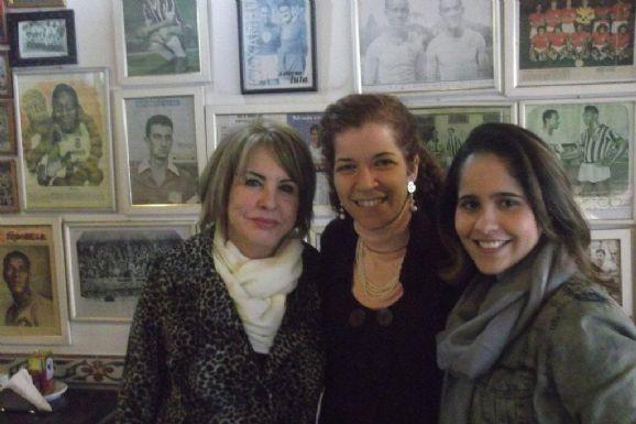 Celeste Raimondi recebe imprensa no Elídio Bar