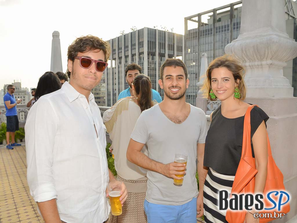 Inauguração da 2ª edição do Heineken Up On The Roof - Garden Edition no Edifício Martinelli