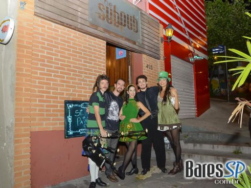 Show da Banda Bernie animaram o St. Patrick's Day no The Sub Pub