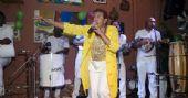 Leci Brandão e Carllão Maneiro animaram o aniversário da cantora com samba no Traço de União /fotos/coberturas/21461/21461_pq BaresSP