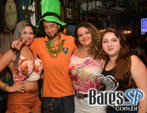 Dunluce recebeu Luana Camará, Tiago Aguiar e Terra Celta na festa de St. Patrick's Day