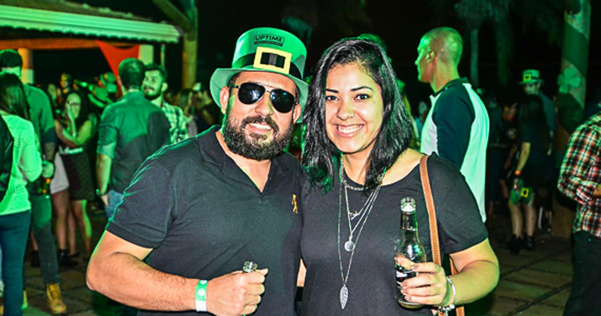 fotos - Bragança Paulista recebeu pela 1ª vez festa dedicada ao St. Patrick's Day