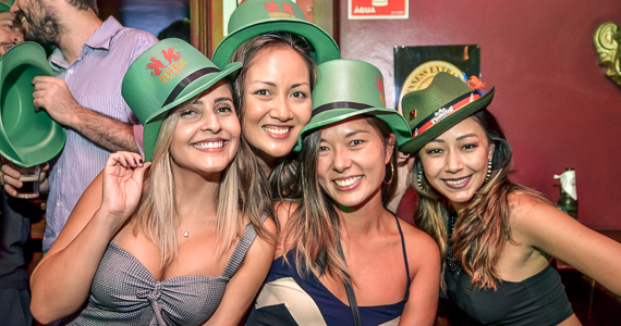 Banda Almanak e DJ Maia com muito pop rock no Republic Pub - St. Patricks Week