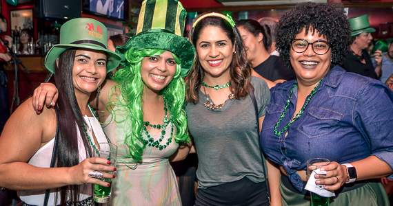 Festa de St. Patricks Day com as bandas Vih e Bubbles no Republic Pub - St. Patricks Week