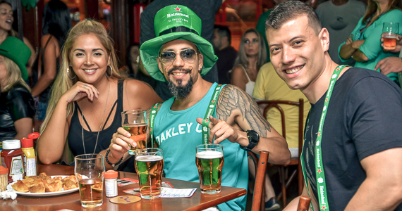 Festa de St. Patricks Day com as bandas Roxter e The Lords no Liverpool Pub - St. Patricks Week