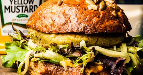 Coffee Week Facto Veggie Burger