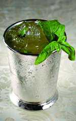 drink drinks coquet�is Drink  Japanese Basil Cup