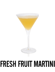 Fresh Fruit Martini