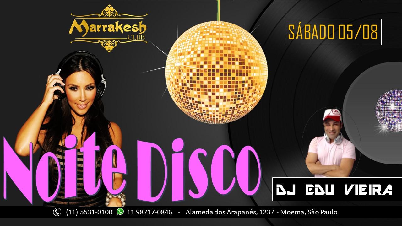 Noite Disco no Marrakesh Club