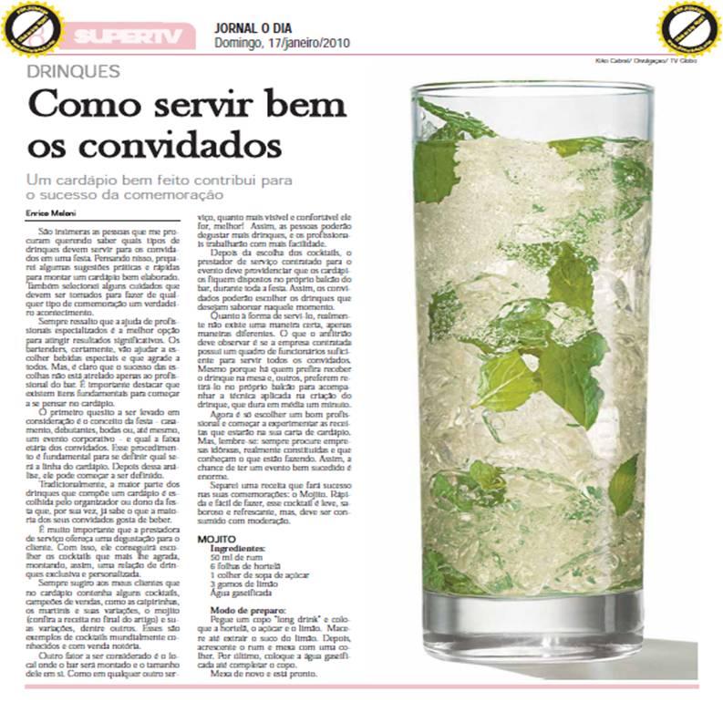 Matéria no Jornal O Dia de Teresina (PI)