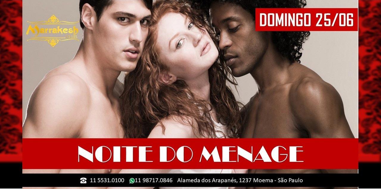 Domingo Noite do Ménage - Marrakesh Club