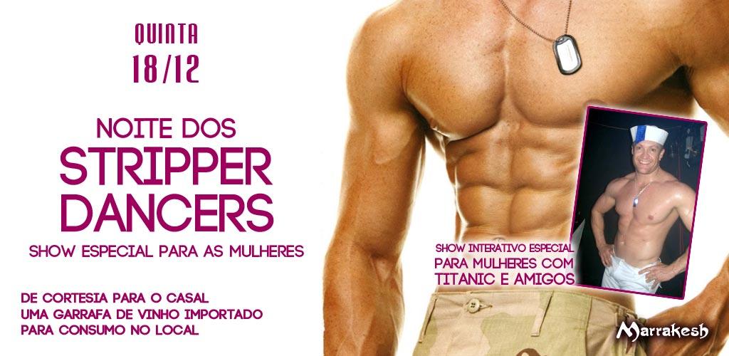 Noite dos Stripper Dancers